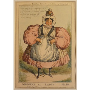 Georgina the ladys maid - household servants, plate no. 2