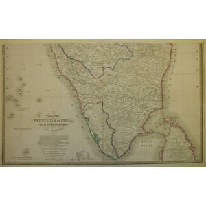 India - north and south (set of two) -  james wyld, 1843