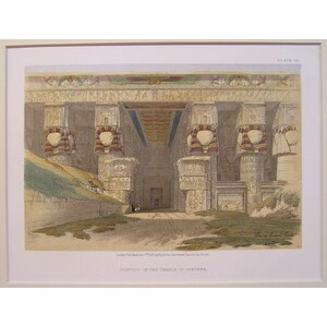 Portico of the temple of dendera
