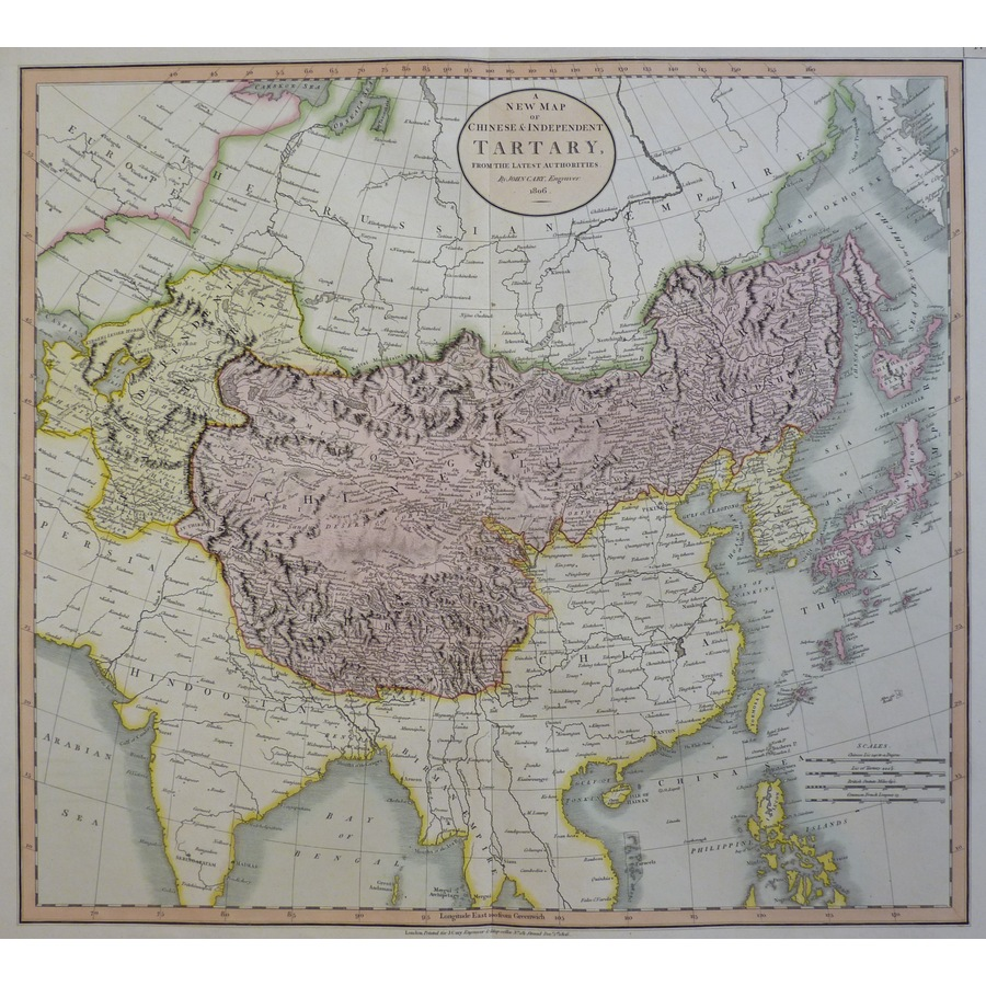 A New Map of Chinese & Indepe. | Storey's