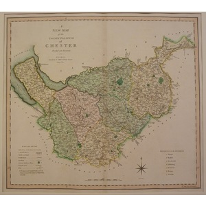 A new map of the county palatine of chester