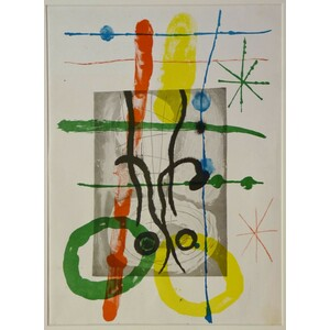 Carton no. 18 - Joan miro