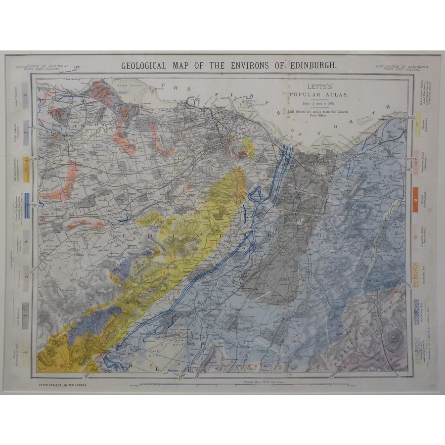 Geological map of the environ. | Storey's