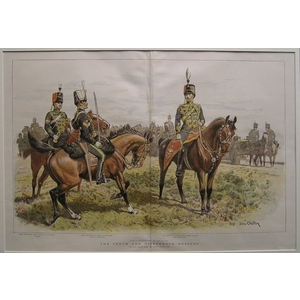 The tenth and nineteenth hussars