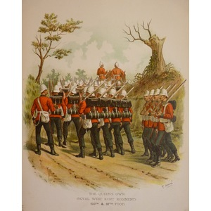 The queens own (royal west kent regiment) (50th & 97th foot)