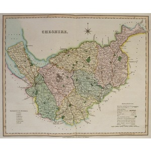 Cheshire - teesdale, 1851