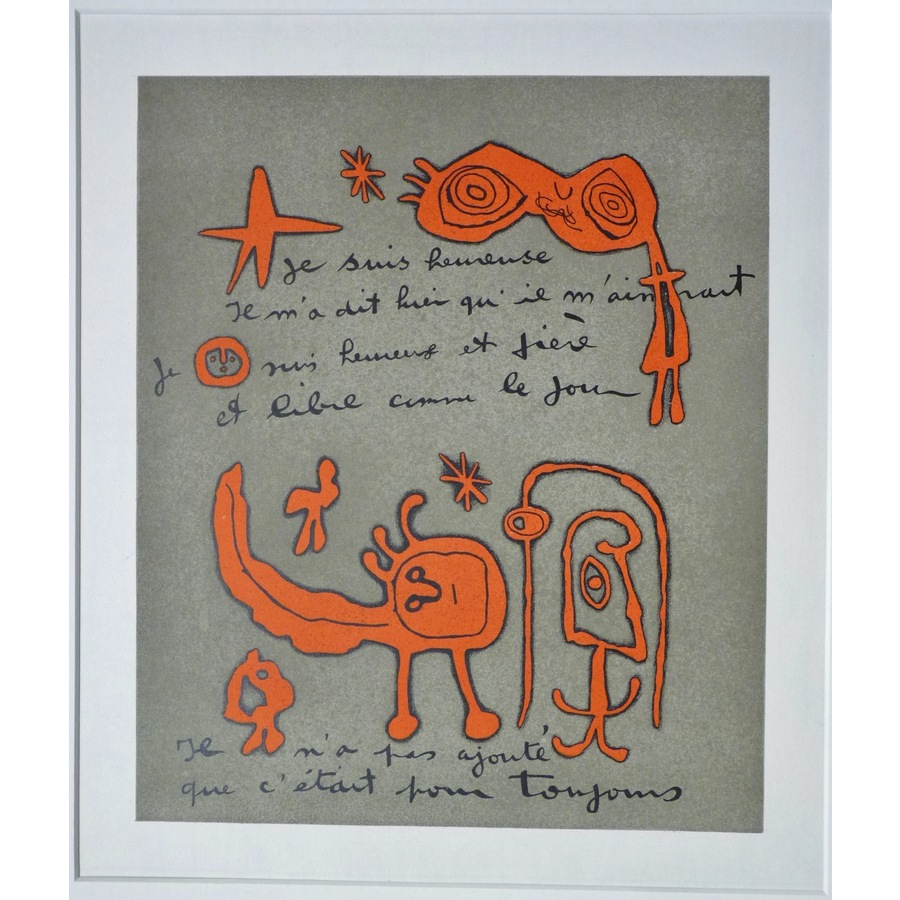Poem by prevert - joan miro | Storey's