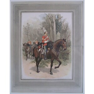 The 6th (inniskilling) dragoons - a sergeant in marching order