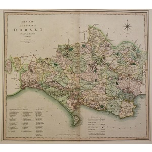 A new map of the county of dorset