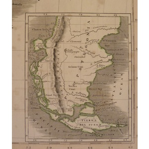 Chili and the united provinces (with patagonia) - lizars, 1833