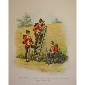The prince of wales (north staffordshire regiment) (64th & 98th foot)