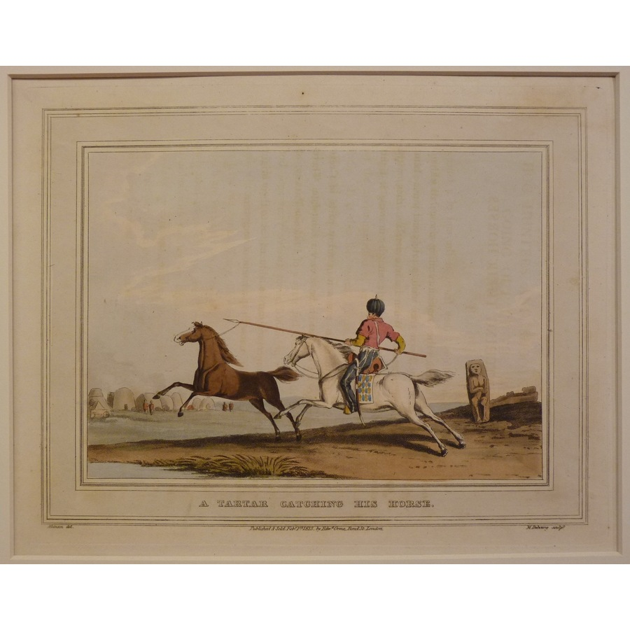 A tartar catching his horse | Storey's