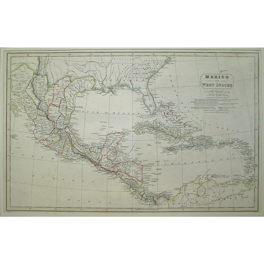 Mexico and the west indies - . | Storey's