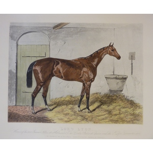 Lord Lyon ; Handcoloured copper engraving reissued from the original plate. By G Hunt