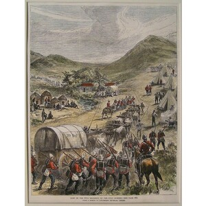 Camp of the 80th regiment on the zulu border