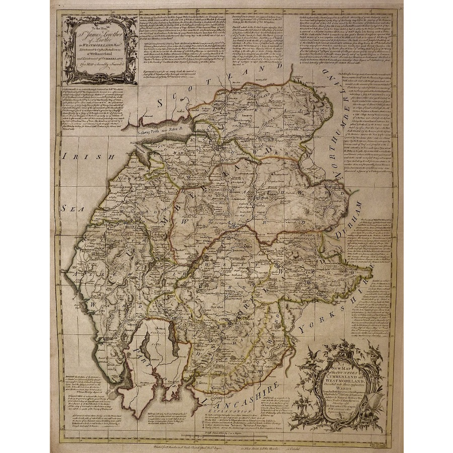 An accurate map of the counti. | Storey's