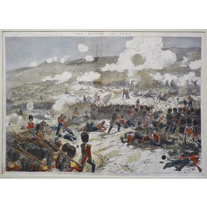 The british troops on the heights of alma - grand charge of the guards