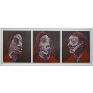 Triptych - 3 studies for a portrait of isabel rawsthorne