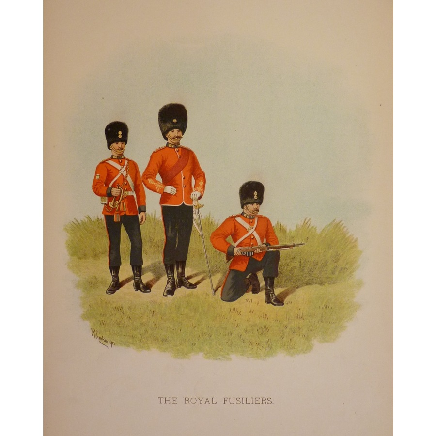 The royal fusiliers | Storey's