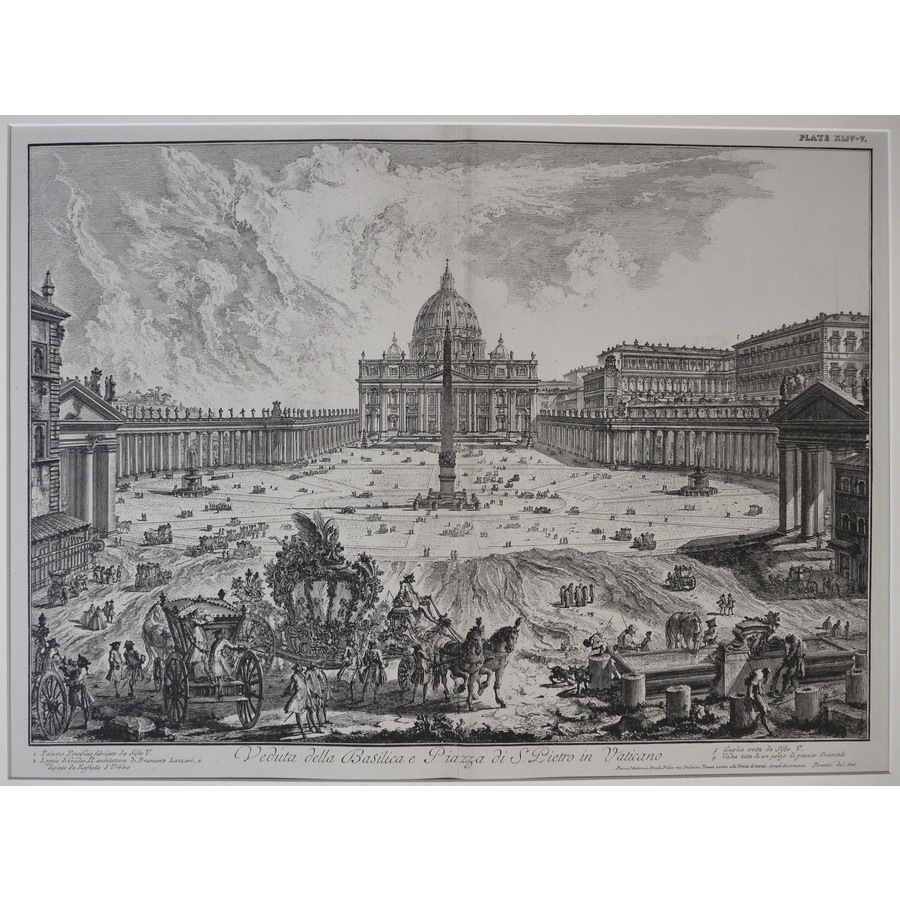 View of the St. Peter's Basil. | Storey's