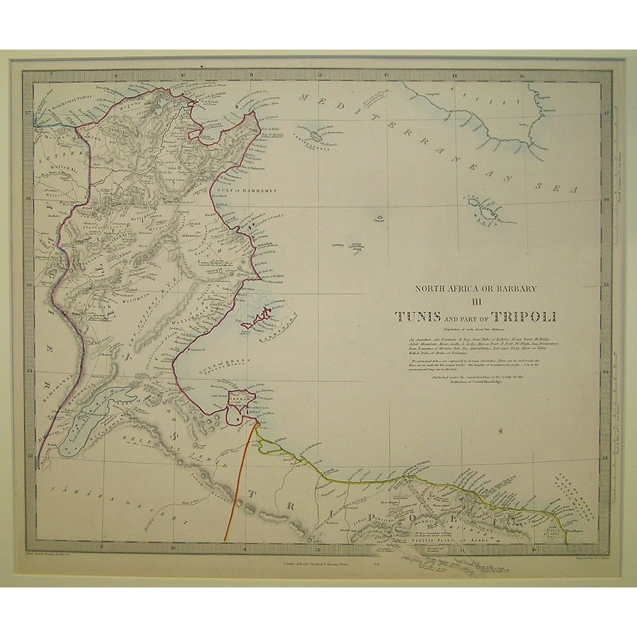 Tunis and part of tripoli - n. | Storey's