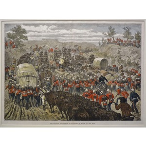 The military evacuation of zululand: a block on the road