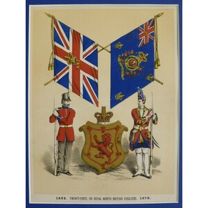 1862. Twenty-first, or royal north british fusiliers, 1678