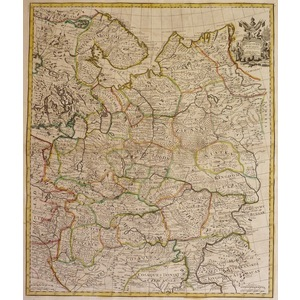 Russia - moscovey in europe - 1721
