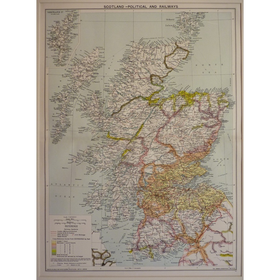 Scotland - political and rail. | Storey's
