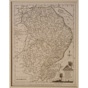 A modern map of lincolnshire