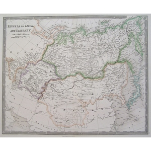 Russia in asia and tartary - teesdale 1844