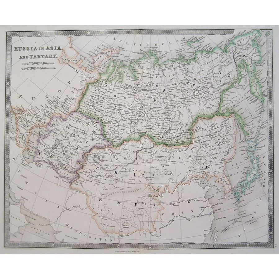 Russia in asia and tartary - . | Storey's
