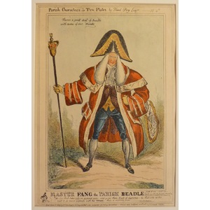 Master fang the parish beadle - parish characters plate no.4