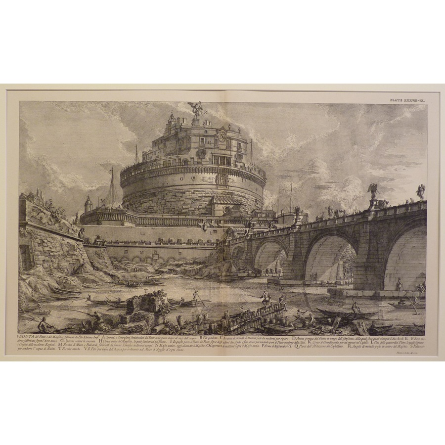 View of bridge and mausoleum.. | Storey's