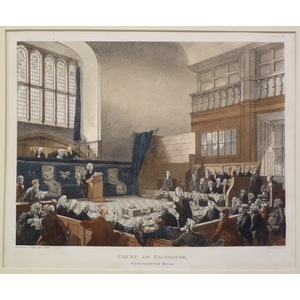 Court of the exchequer, westminster hall
