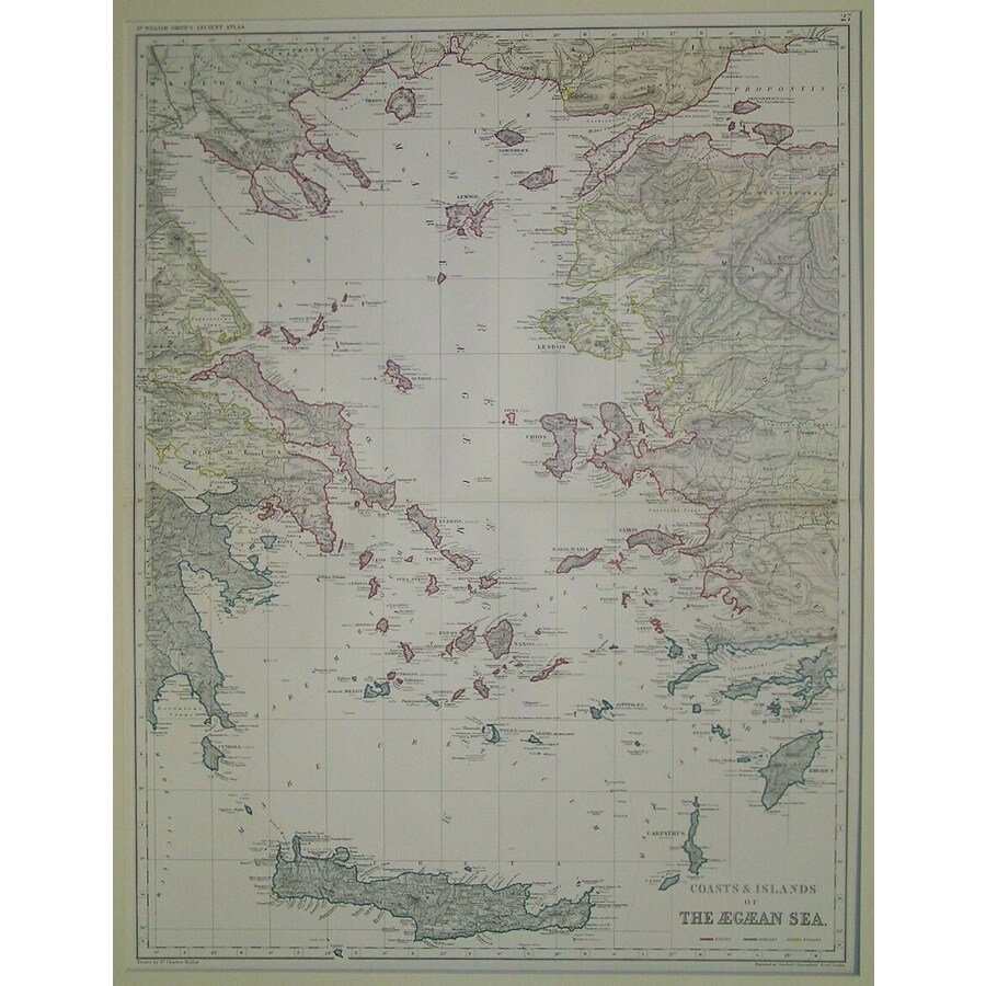 Coasts and islands of the aeg. | Storey's