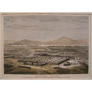 The afghan war: candahar, with the british cantonments under general sir donald stewart