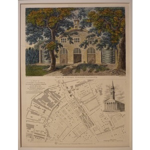 View of cupers gardens, lambeth