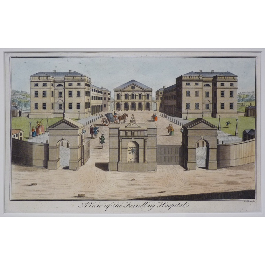 A view of the foundling hospi. | Storey's