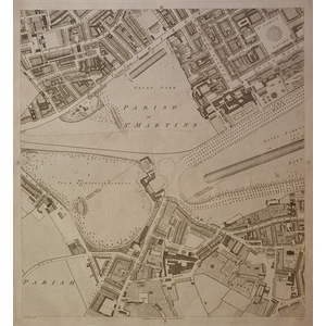 Horwood – Richard ( c,1758 – 1803 ) London, Sheet 3b - st. James park, piccadilly. The outcome of...