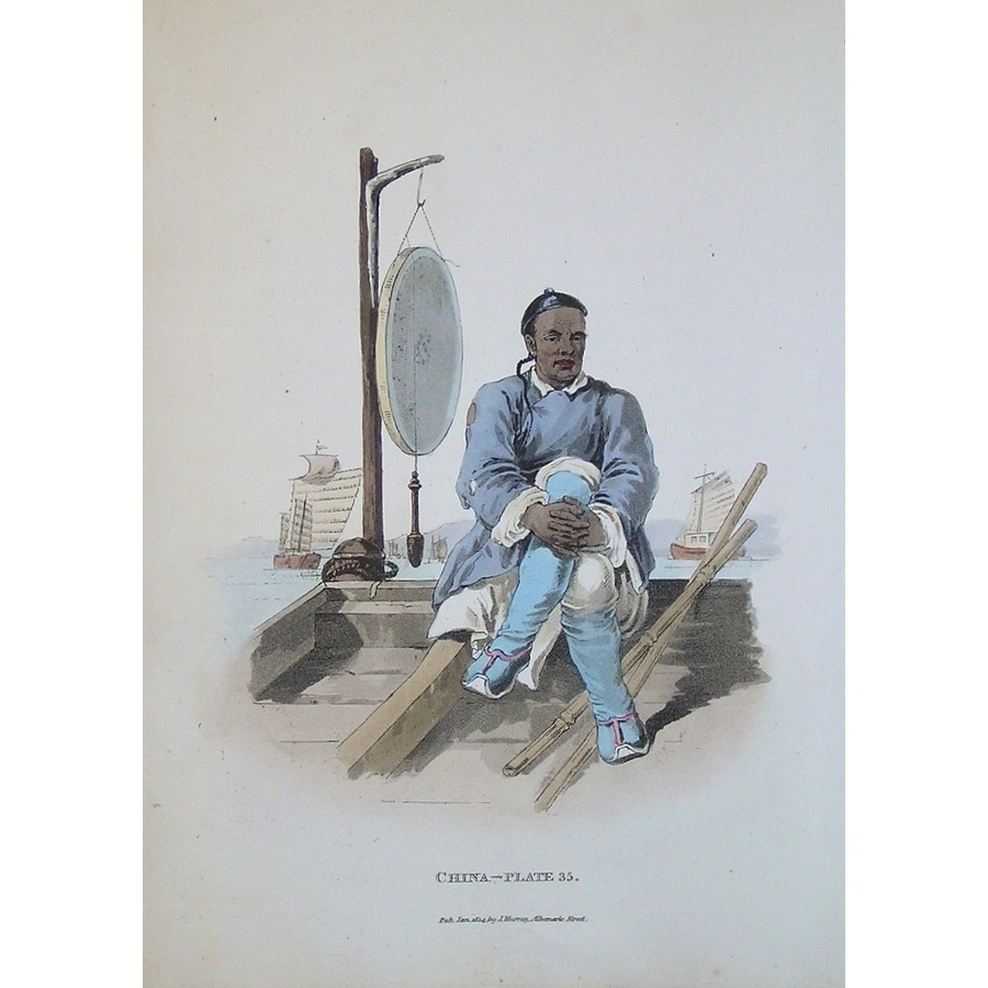 *plate xxxv - a waterman in h.   Storey's