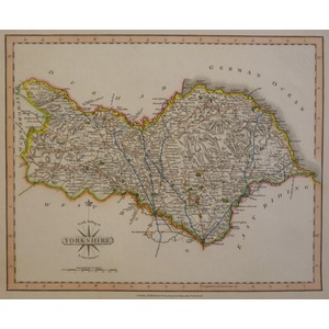 Yorkshire, the north riding of - cary, 1793