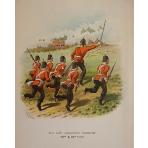 The east lancashire regiment (30th & 59th foot)