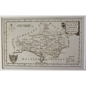 A new map of dorsetshire
