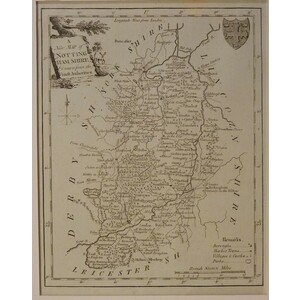 A new map of nottinghamshire