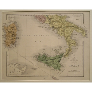 Italy - southern part - 1868