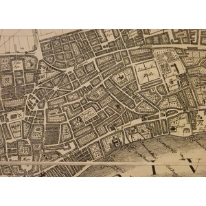 A plan of the citys of london, westminster and southwark, with the new additional buildings, anno...
