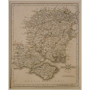 Hampshire - j. Cary, 1793