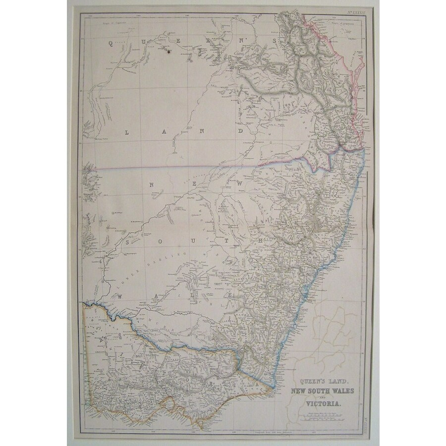 Queensland, new south wales a. | Storey's