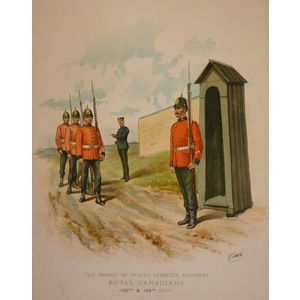 The prince of wales leinster regiment - royal canadians